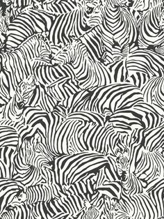 A multitude of zebras Wallpaper http://lelandswallpaper.com $34.99 a roll