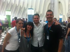 Campus Party España 2011- con Inés Chueca, Cristina Díaz y Julien Fourgeaud (Angry Birds)
