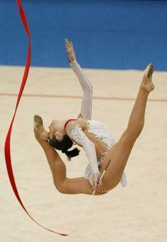 Anna Bessonova - Rhythmic Gymnastics
