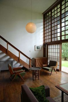 Maekawa Kunio Architecture, Japan (1905-1986) 階段・木