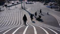 Copenhagen Lined Paving Pattern.