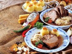 Bavarian roast pork with honey sauerkraut
