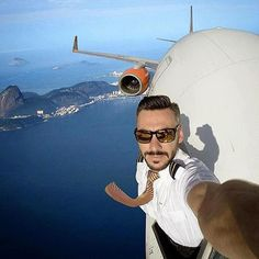 WTF! Three pilots of IndiGo airlines grounded for taking mid-air selfies! Three pilots of the IndiGo airlines were grounded for a week by the aviation safety regulator of the country. The pilots were reportedly taking selfies on their phones in mid-air in the airplane's cockpit. . . The trend of taking selfies is indeed increasing day by day in India but doing so while airborne is highly dangerous. Such an action by someone as responsible as the Captain of the plane is condemnable as it may…