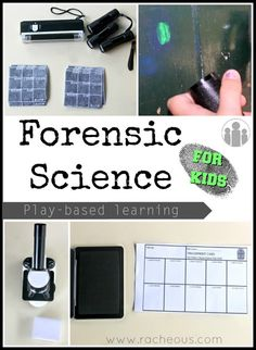 Forensic Science Study with FREE Printables
