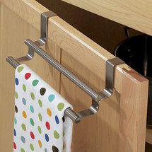 You don't have to shell out the big bucks to get a beautifully organized kitchen. These affordable storage solutions let you keep your cash while making your own kitchen storage-rich. Hallway Storage Bench, Diy Garage Storage, Pantry Storage, Kitchen Storage, Smart Kitchen, Kitchen Shelves, Kitchen Cabinets, Towel Rack Bathroom, Bathroom Storage