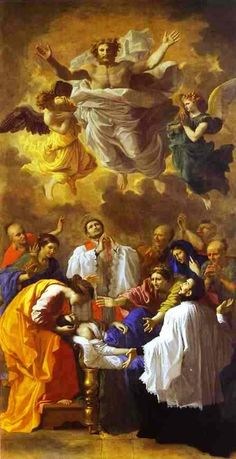 The Miracle of St. Francis Xavier - Nicolas Poussin