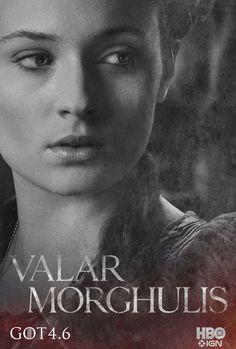 Sansa Stark Season Four Poster for Game of Thrones