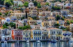 Simi, one of the most beautiful islands in Greece One of these days! Places Around The World, Oh The Places You'll Go, Places To Travel, Places To Visit, Around The Worlds, Wonderful Places, Beautiful Places, Places In Greece, Greece Islands
