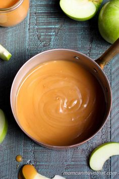 Homemade Low Carb Caramel Sauce is easy to make with just 4 ingredients. | low carb, gluten-free, keto | lowcarbmaven.com