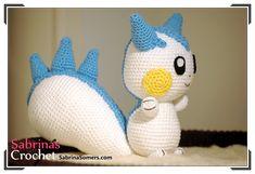 Sabrina's Crochet - Free crochet pattern Pachirisu (Pokemon)