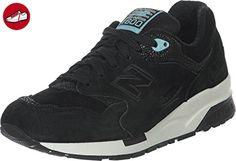 New Balance Schuhe Damen Sneaker Turnschuhe Schwarz CW1600GM, Größenauswahl:37.5 (*Partner-Link)