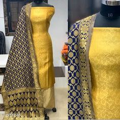 Satin Dresses, Silk Dress, Banarasi Suit, Buy Fabric Online, Womens Dress Suits, Art Silk Sarees, Types Of Fashion Styles, Dresses For Work, Cod