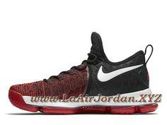 wholesale dealer d56ba cefd8 Nike Zoom KD 9 University Red 843392 610 Chaussure Officiel Jordan de  basketball pour Homme