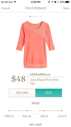 This is really interesting and i'm not usually a fan of this color but i'm liking it in this top