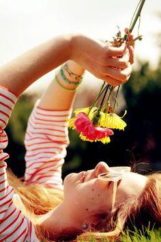 Colours. Flowers. Summer.