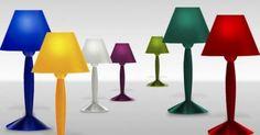 #MissSissi di #Flos è la prima lampada prodotta in plastica biodegradabile