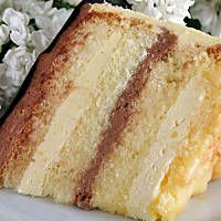 tort kinder - przepis - izaa_a - wielkiezarcie.com Sweet Recipes, Healthy Recipes, Sweets Cake, Polish Recipes, Vanilla Cake, Cheesecake, Food And Drink, Baking, Eat