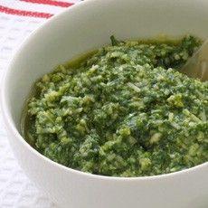 Home-made Pesto Sauce Recipe on Yummly. @yummly #recipe