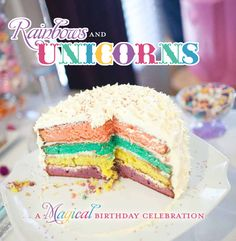 Magical Unicorn Birthday Party Extravaganza // Hostess with the Mostess®