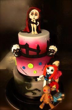 Amazing Halloween Cakes - The Nightmare Before Christmas | Guff