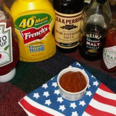 """This is similar to, and maybe even Very, Very Similar to Heinz Steak Sauce, in color, texture and taste.  Great for Steaks, Burgers, Hot Dogs and Corn Dogs, and I like to dunk my fries into it. It puts a little """"dew"""" on the top of my very, very sparsely populated head.  I have approximated A-1 Steak Sauce as well, and will have to note my ingredients, and post in the future.  If you have other uses for Steak Sauces, give this one a try and let me know what you think. A special treat for ..."""