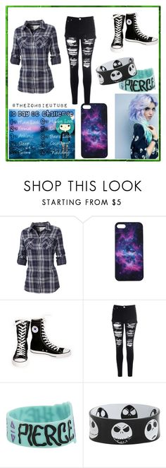 """""""10 Day OC Challenge: Day 1"""" by thora-1031 ❤ liked on Polyvore featuring Fat Face, Converse and Glamorous"""