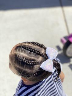 Easy Little Girl Hairstyles, Cute Girls Hairstyles, Kids Braided Hairstyles, Bella Rose, Braids For Kids, Cute Gif, Little Girls, Hair Styles, Toddler Hairstyles