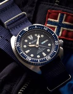 Seiko SRP773 Turtle in Blue