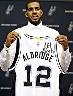 94f69ee9398 BREAKING: The San Antonio Spurs are looking to move Lamarcus Aldrige. They  have been