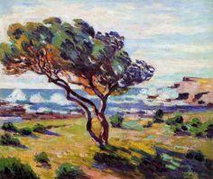 Ráfaga de viento - Armand Guillaumin
