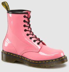 Dr. Martens 8 Eye Boot in Acid Pink