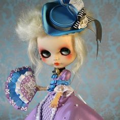 Blythe Custom inspirada en Maria Antonieta #blythedoll #fairyfoufrou #mariaantonieta