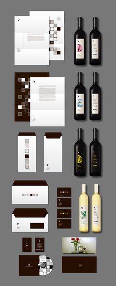 Terre d'Erice - Winery Identity on Packaging Design Served