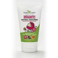 Goddess Garden Baby Natural Sunscreen, SPF 30 | EWG's Skin Deep® | 2012 Sunscreen Report