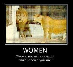 Haha. Let's keep it that way ladies.