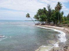 The beautiful beach of Les Cayes, Haiti
