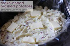 Crock pot make-ahead