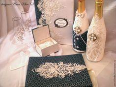 """Купить Бокалы """"Марсель"""" - золотой, бронзовый, Бокалы, бокалы свадебные, бокалы на свадьбу, бокалы для свадьбы"""