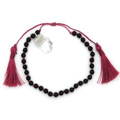 Blissful crystal armband black agate from Applepiepieces
