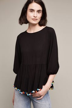 Shop the Pom-Dipped Top and more Anthropologie at Anthropologie today. Read customer reviews, discover product details and more.