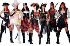 Image detail for -Pirate Wench Fancy Dress Costume | Dresses