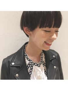 【Lomalia表参道/原宿】切りっぱなしショートボブ×前髪あり☆ Short Hair Cuts, Short Hair Styles, Hair Arrange, Hair Reference, Fair Lady, Asian Hair, How To Make Hair, Pixie Cut, Hair Designs