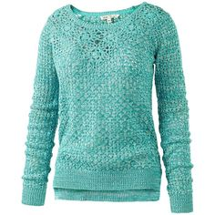 Fat Face Daisy Crochet Jumper , Laurel Green ($27) ❤ liked on Polyvore featuring tops, sweaters, shirts, blue, fat face, laurel green, long-sleeve shirt, long sleeve shirts, long sleeve crop top and long-sleeve crop tops