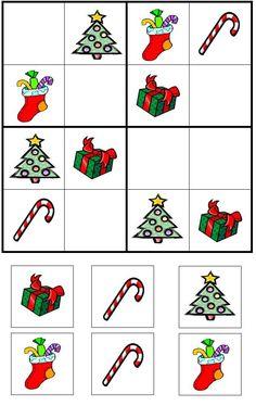 Christmas Games, Christmas Activities, Christmas Printables, Christmas Art, Christmas Holidays, English Worksheets For Kids, Maila, Theme Noel, Kids Education