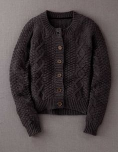 Cable Cardigan. never goes out of style for a little girl.