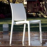 Found it at Wayfair - La Plaza Maya Stacking Dining Side Chair