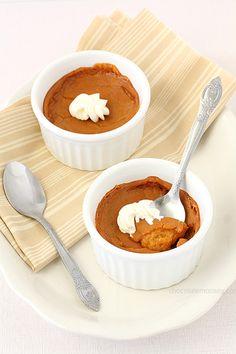 Egg Free Pumpkin Pie For Two   www.chocolatemoosey.com