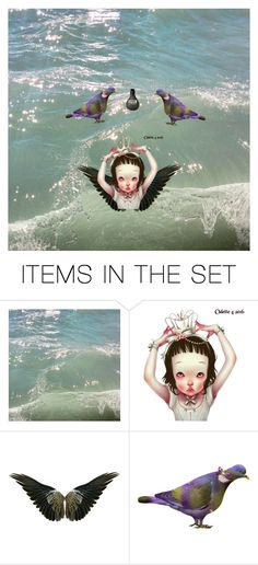 """""""Untitled #48"""" by aya-f ❤ liked on Polyvore featuring art"""
