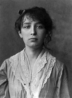 1884 - Camille Claudel (8. Dezember 1864 - 19. Oktober 1943) war eine französische Bildhauerin und Grafikerin.