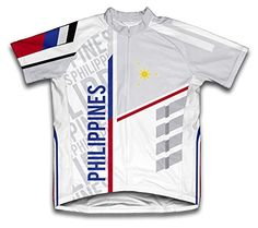 Philippines ScudoPro Short Sleeve Cycling Jersey for Men  Size S ** Click on the image for additional details.Note:It is affiliate link to Amazon. #instagood
